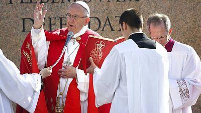 Domingo de Ramos desde Roma
