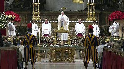 Misa de Año Nuevo desde el Vaticano (Roma)