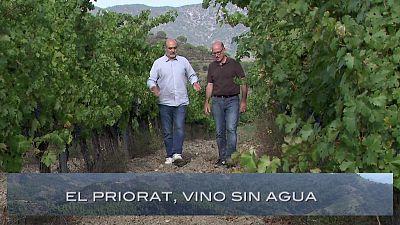 Priorato, vino sin agua