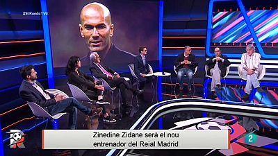 Zinedine Zidane nou entrenador del Reial Madrid