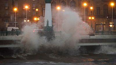 Alerta por lluvia y viento en el noroeste peninsular