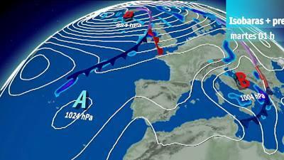 Ascenso notable de las temperaturas en el norte y moderado en el resto