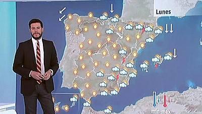 Bajan las temperaturas y habrá tormentas en el sureste