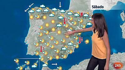 Bajan los termómetros en la mitad nordeste peninsular y suben en Canarias