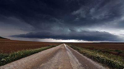 Chubascos y tormentas que podrán ser localmente fuertes en el noroeste peninsular