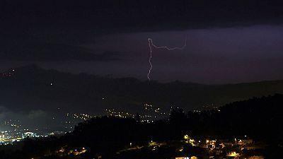 Chubascos y tormentas que podrán ser localmente  fuertes