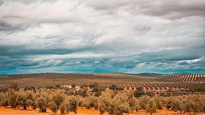 Cielo nuboso y ascenso de las temperaturas
