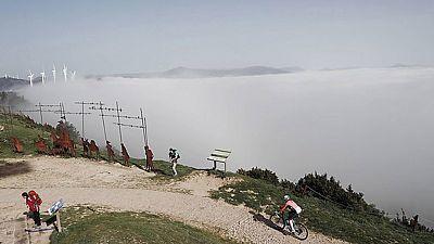 Cielo nuboso y temperaturas en ascenso