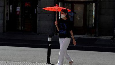 Continúan el calor en el este y las lluvias débiles en el norte