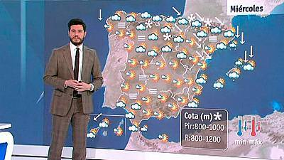 Descenso de temperaturas y fuertes vientos