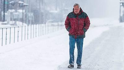 Descenso generalizado de temperaturas en todo el país