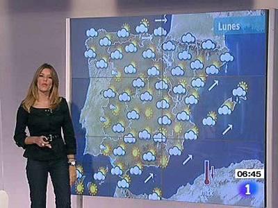 Diez comunidades en alerta amarilla por fuertes lluvias y vientos - 04/10/10