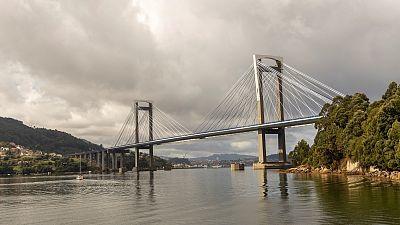 En Galicia, intervalos de viento fuerte y precipitaciones persistentes en el oeste