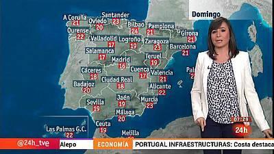 Fuertes lluvias en la franja occidental, sobre todo en Ávila y Cáceres