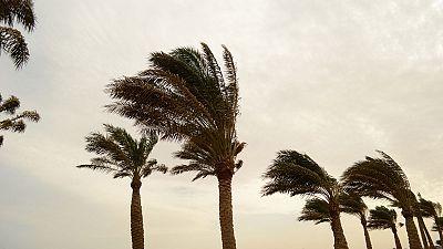 Fuertes vientos en el levante y sur peninsular