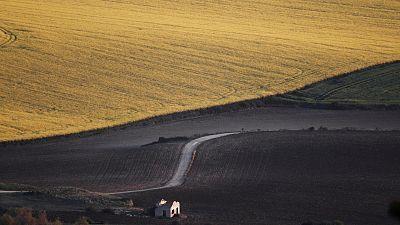 Intervalos de viento fuerte en el oeste de Galicia