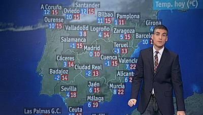 Intervalos de viento fuerte en el valle del Ebro y en el noreste de Cataluña