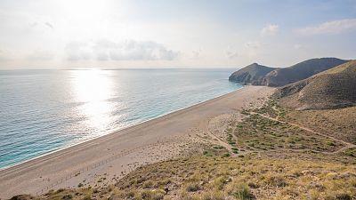 Intervalos de viento fuerte en los litorales de Galicia y Almería