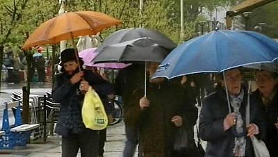 La lluvia irá remitiendo, aunque será más intensa en Aragón y Cataluña