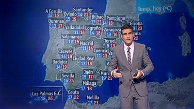 Las lluvias y el viento sorprenden a prácticamente toda España