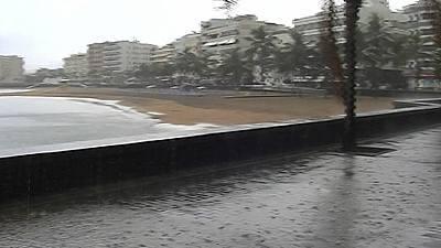 Lluvia en Galicia, Cantábrico, Navarra, Pirineos y Atlántico