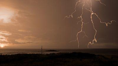 Lluvias débiles en Galicia y meseta norte