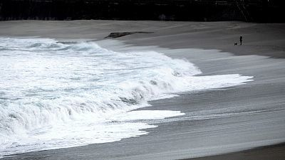Lluvias en el norte y oeste peninsular, fuertes en Galicia