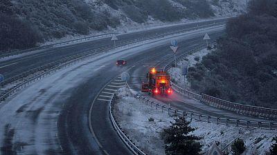 Nevadas, viento y temperaturas extremadamente frías para la época