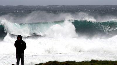 Precipitaciones fuertes en Galicia y ascenso térmico en mitad este peninsular