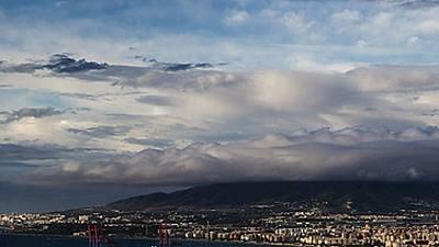 Precipitaciones localmente fuertes en Canarias