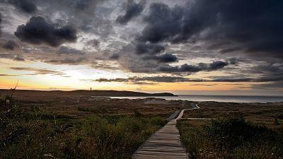 Precipitaciones persistentes y localmente fuertes en el oeste de Galicia