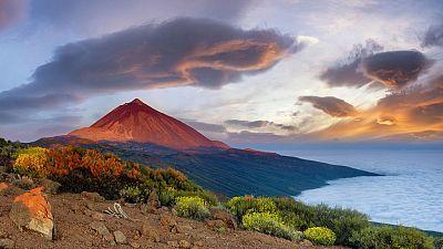 Temperaturas altas en las islas orientales de Canarias