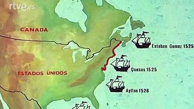 Los españoles en la costa atlántica antes de 1607