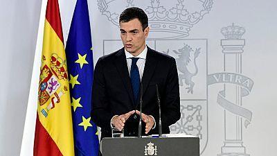 Avance informativo - Gobierno de Pedro Sánchez