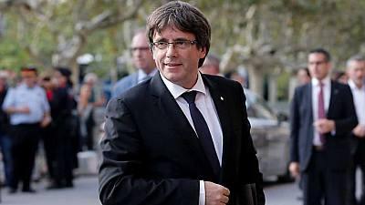 Especial informativo - Comparecencia de Carles Puigdemont (1)