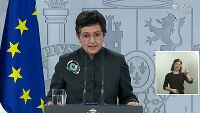 Especial informativo - Comparecencia  de la ministra de Exteriores - 23/04/20