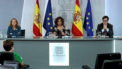 Especial informativo - Comparecencia de la ministra portavoz, ministra de Economía y ministro de Sanidad - 28/07/20