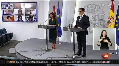 Especial informativo - Comparecencia de la ministra portavoz y del ministro de Sanidad - 03/05/20