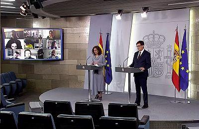 Especial informativo - Comparecencia de la ministra portavoz y del ministro de Sanidad - 14/04/20
