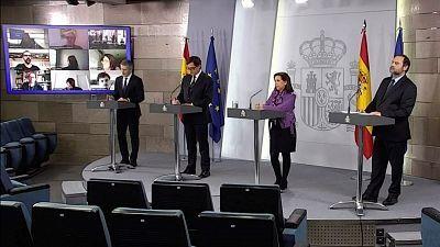 Especial informativo - Comparecencia de los ministros de Sanidad, Defensa, Interior y Transportes - 19/04/20