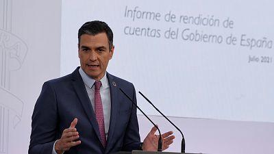 Especial informativo - Comparecencia de Pedro Sánchez: balance político del año - 29/075/20