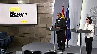 Especial informativo - Comparecencia del ministro de Transportes y de la ministra de Política Territorial - 13/04/20
