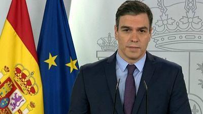 Especial informativo - Comparecencia del presidente del gobierno, Pedro Sánchez - 12/04/20