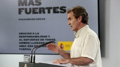 Especial informativo - Coronavirus. Comparecencia de Fernando Simón - 15/06/20