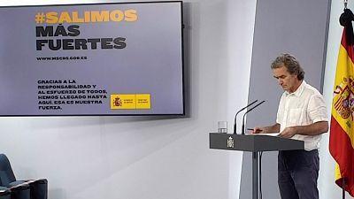 Especial informativo - Coronavirus. Comparecencia de Fernando Simón - 29/05/20