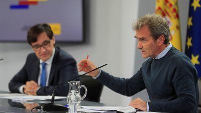 Especial informativo - Coronavirus. Comparecencia de Fernando Simón y el ministro de Sanidad, Salvador Illa - 05/10/20