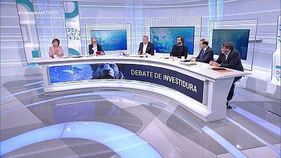Especial informativo - Debate de investidura de Pedro Sánchez (1) - 07/01/20