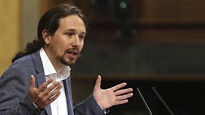 Especial informativo - Debate de la moción de censura de Unidos Podemos a Rajoy (3)