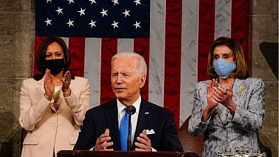 Especial informativo - Discurso de la nación en EEUU del presidente Joe Biden - 29/04/21