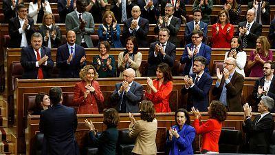 Los desayunos de TVE: Constitución de las Cortes (1ª parte)